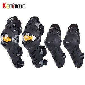 4PCS Motorcycle Knee Elbow Pad