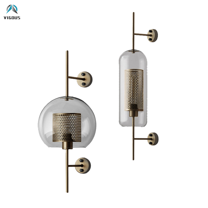 Loft American Retro Industrial Hollow Metal Lustre Led E27 Wall Lamp Clear Glass Globe Shades Luminaria Wall Scones Led LampLoft American Retro Industrial Hollow Metal Lustre Led E27 Wall Lamp Clear Glass Globe Shades Luminaria Wall Scones Led Lamp