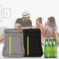 Waterproof Picnic Bag Double Shoulder Picnic Thermal Insulation Bag EVA Large Capacity Lunch Backpack Ice Pack Beer Cooler