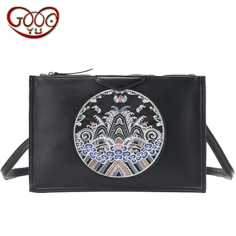 Home Intellective Original Chinese Style Clutch Clutch Trend Street Color Hit The Shoulder Diagonal Package File Ipad Package Removing Obstruction