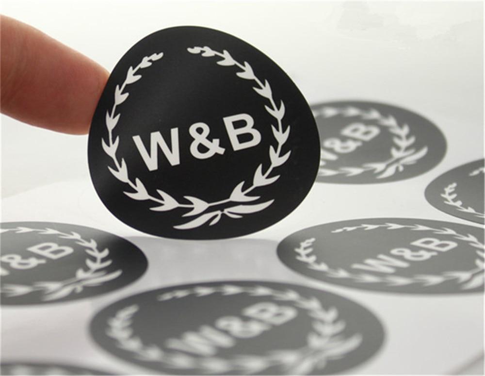 Pcs Custom Vinyl Waterproof Stickers For Bathroom ShampooSoap - Custom vinyl stickers waterproof