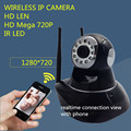 720P Infrared Wifi Camera PT P2P Wireless HD 1.0MP IP network IRCUT CMOS Security Surveillance CCTV Night Vision