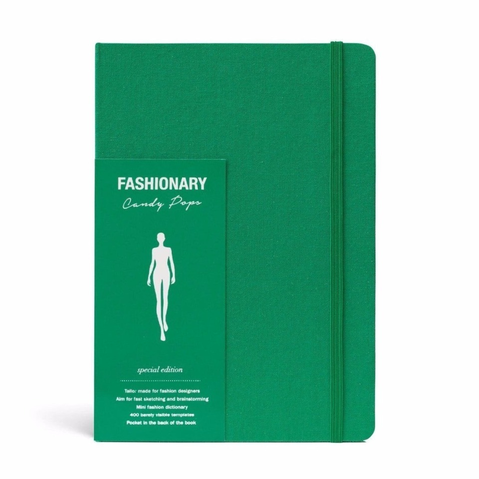 A5 Fashion Design Sketchbook With 130 Page Womens Figure Templates To Draw Inspiration On Time Green Color Notebooks Aliexpress