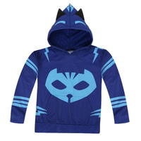 PJ Mask Hero Of Kid Cosplay Costume Hoodies Jacket Sweater Jacket