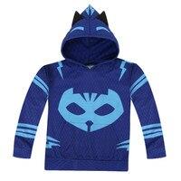 PJ Mask Hero Of Kid Cosplay Costume Hoodies Jacket Sweater Jacket
