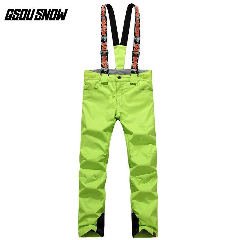 GSOU SNOW Double simple planche pantalon de Ski pour femme hiver extérieur imperméable chaud épaissi coupe-vent respirant pantalon de Ski - 3