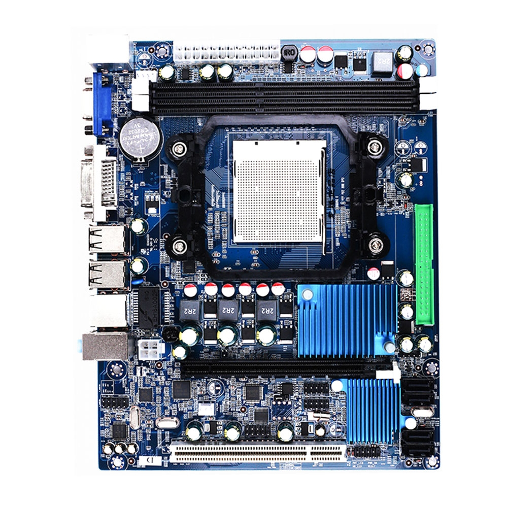 AMD A78 Motherboard AM2 DDR3 Memory Dual channel Supports AM3 938 Dual Core Quad Core AMD AM2 940 AM3 938 series CPU image