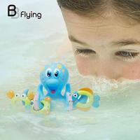 キッズベビー幼児風呂のおもちゃセット海の生き物タコ浴室水のおもち