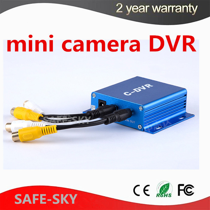 C-DVR 1CH Surveillance camera adapter CCTV mini DVR C-DVR TF card recorders support 32GB SD card 1ch mini camera kit mini dvr kit wd model portable mini cctv surveillance 32g tf card dvr mini camera car dvr 8pcs 940nm leds