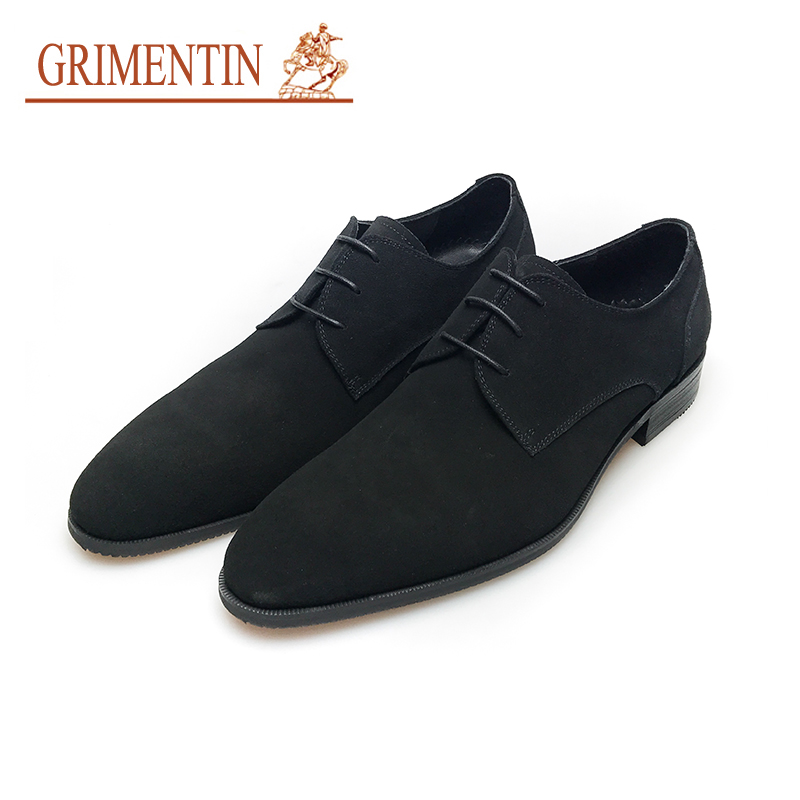 Mens Blue Leather Formal Shoes