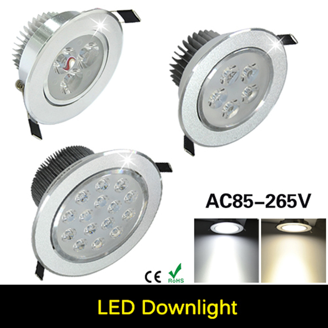 9 Watt/15 Watt/21W27W/36W45W Decke downlight led lampe lampe ...