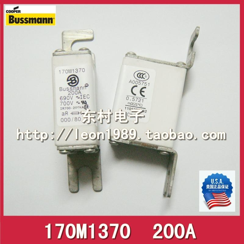 Original US BUSSMANN fuse 170M1370 170M1370D 200A 690V fuse мужской увлажняющий тоник для лица the face shop the fresh for men hydrating toner
