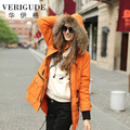 Veri Gude Winter Women's Raccoon Fur Hooded Removeable Fleece Liner Parkas