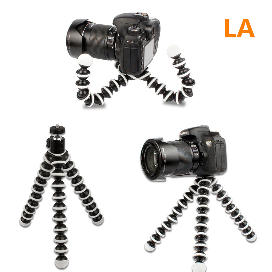 Flexible Large Octopus Tripod Stand Gorillapod for DSLR Mobile Phone Digital DV Canon Nikon Gopro Hero 4/ 3+/ 3 sj4000 Camera