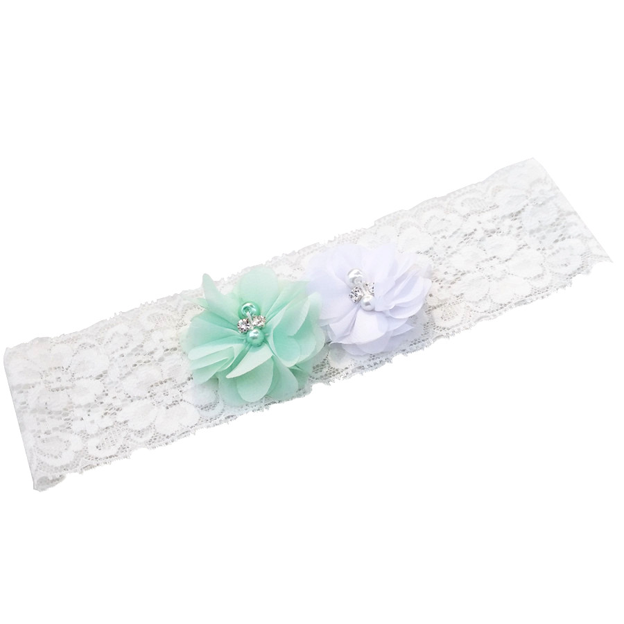Crystal Wedding Garter: 1pcs Bridal Vintage Bridal Crystal Rhinestone White