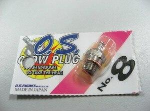 Image 2 - 100% Originale 12 pezzi/lottp OS8 OS N ° 8 Medio Spina N Glow Tappi Per Le Orecchie Per Il SISTEMA OPERATIVO Del Motore di Trasporto libero
