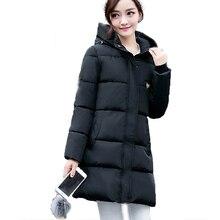 New Arrival 2016 Hot Selling Women Wadded Cotton Coat Winter Hooded Warm Women Jacket Slim Plus Size Female Parkas Outwear SW111