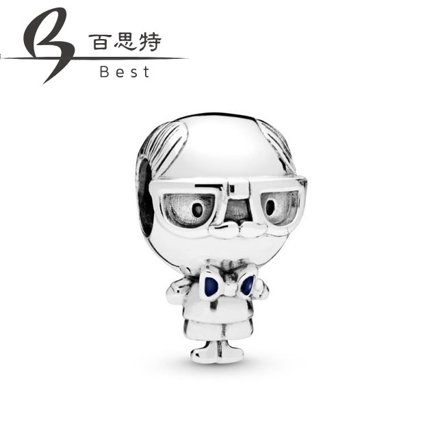 BEST 100% 925 Sterling Silver 2019 Chinese New Year Mother Day 798013EN188 Grandpa Charm Beads Free PackageBEST 100% 925 Sterling Silver 2019 Chinese New Year Mother Day 798013EN188 Grandpa Charm Beads Free Package
