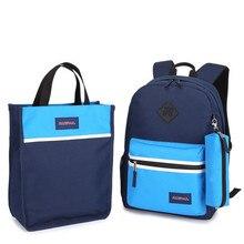 1 Set 3PCS Backpack For School Pencil Case Schoolbag Children's Bags Kids Baby's Student Rucksack