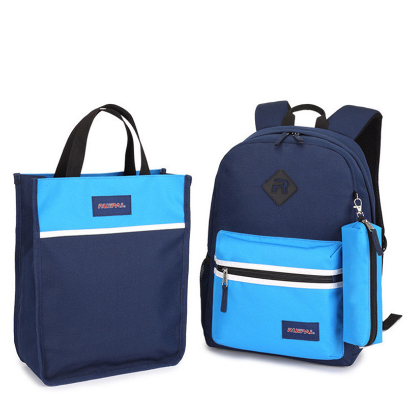 1 Set 3PCS Backpack For School Pencil Case Backpack Schoolbag Childrens School Bags Kids Babys Student Rucksack Bags ...