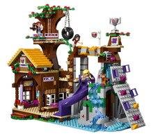 BELA Друзья Серии Приключенческие Лагеря Tree House Building Block Классические Для Девочки Дети Модель Игрушки Minifigures Marvel Совместимость Legoe