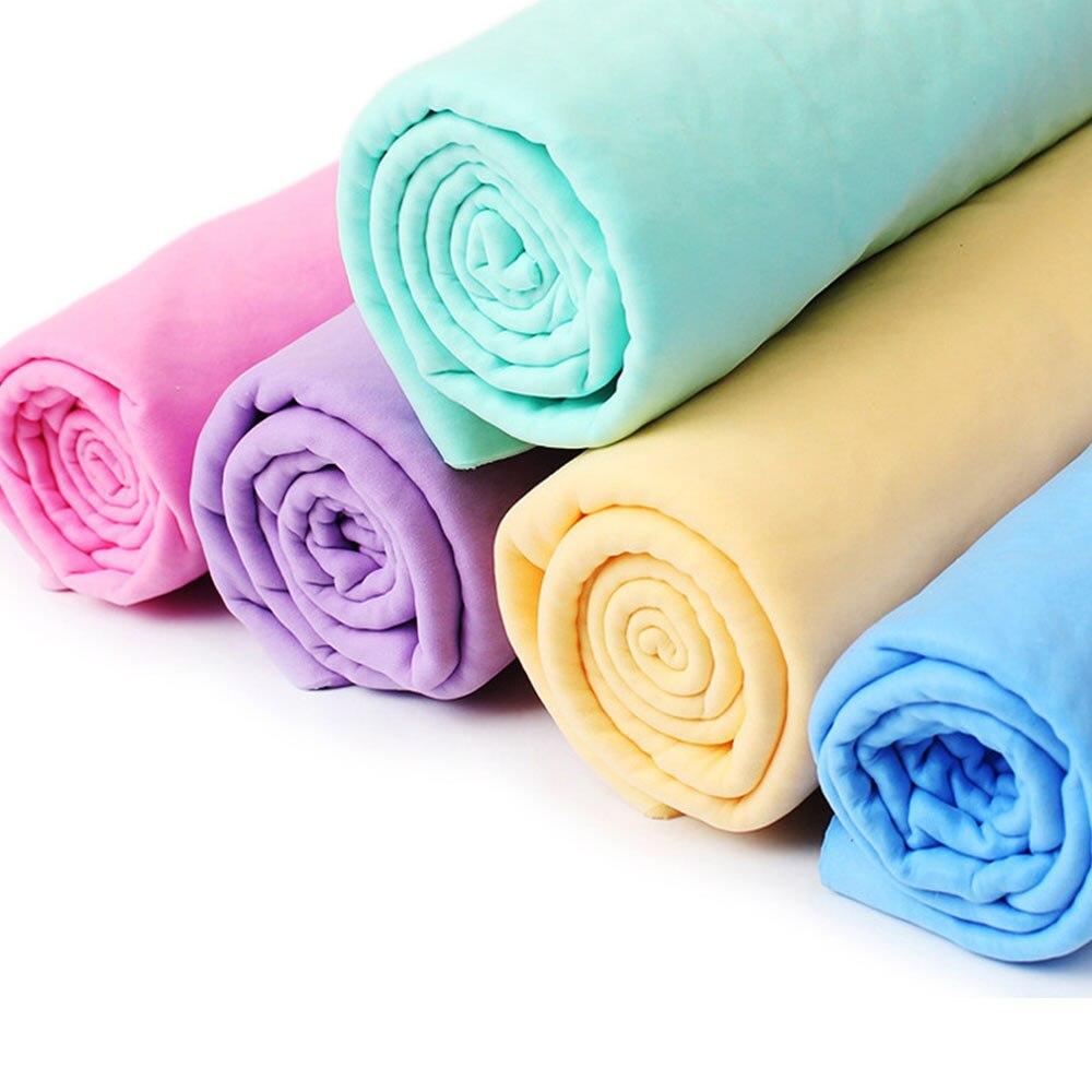 Random Synthetic Buckskin Towel Super Absorbent 43*32cm Microfiber Cleaning Car Towel Home Kitchen Bathroom Clean Towel Cleaning Cloths  - AliExpress