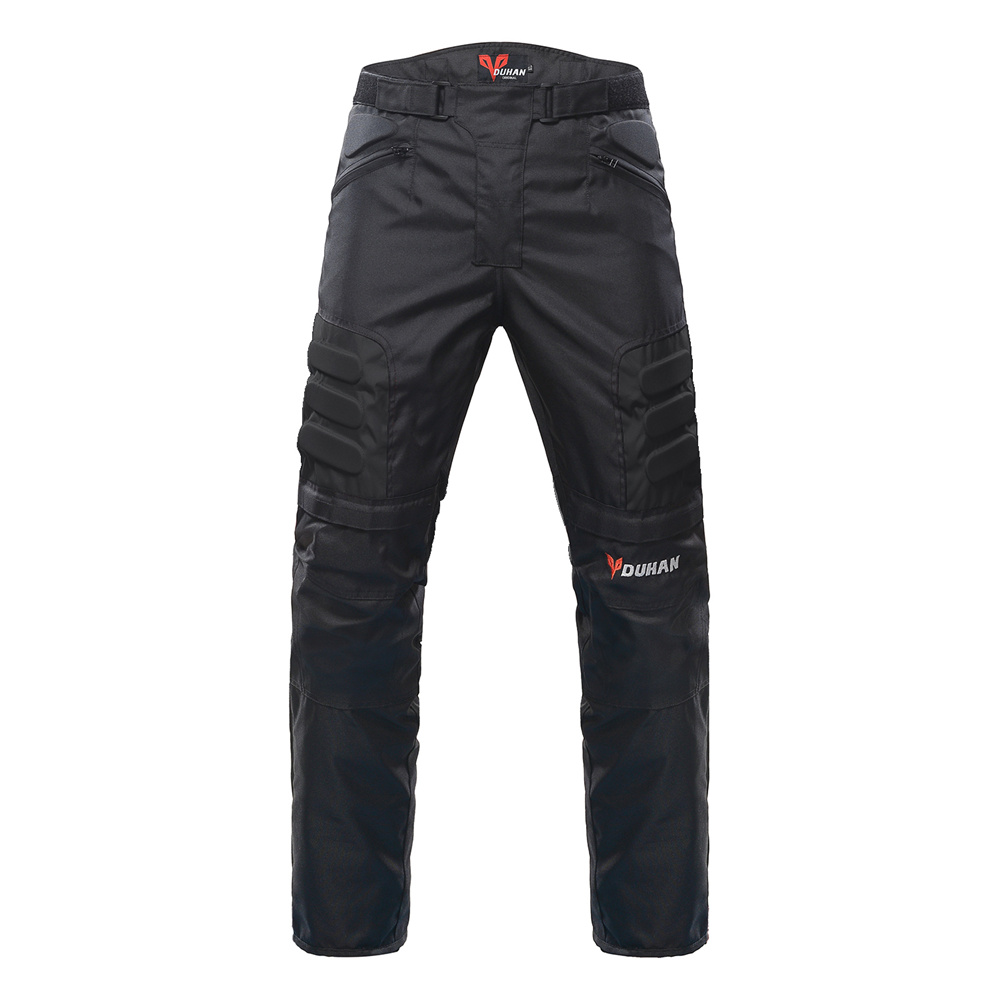 DUHAN Moto Veste Kits Coupe-Vent équipement de protection Veste + ensemble de pantalon Hanche Protecteur costume d'équitation pantalon de Moto Moto Veste - 4