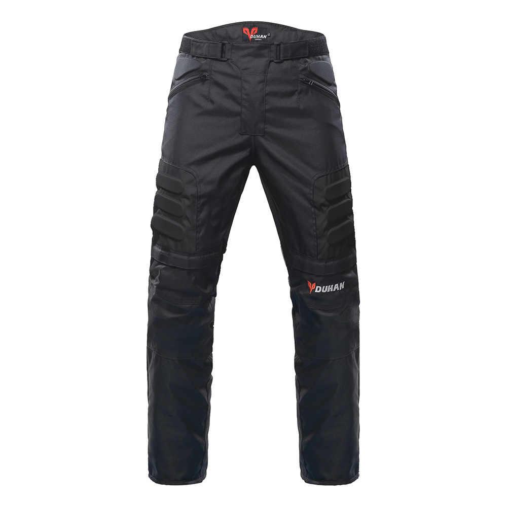 Kit de chaqueta de motocicleta DUHAN chaqueta protectora a prueba de viento + conjunto de pantalones Protector de cadera traje de montar motocicleta pantalones chaqueta de Moto
