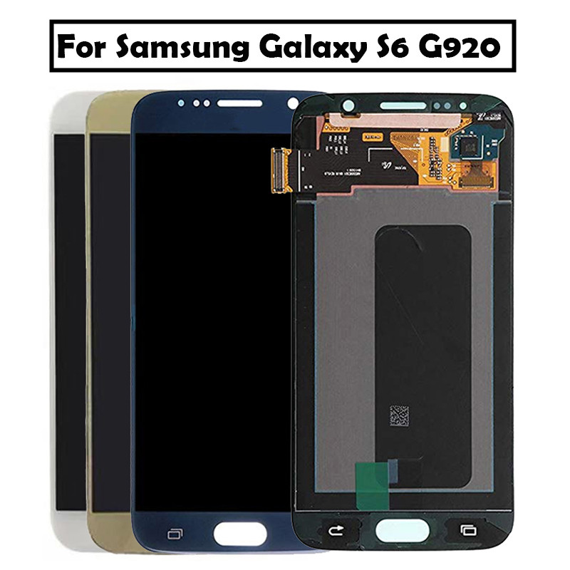 5.1 Super AMOLED Replacement For Samsung Galaxy S6 G920 G920i G920F G920W8 LCD Display With Touch Screen Digitizer5.1 Super AMOLED Replacement For Samsung Galaxy S6 G920 G920i G920F G920W8 LCD Display With Touch Screen Digitizer
