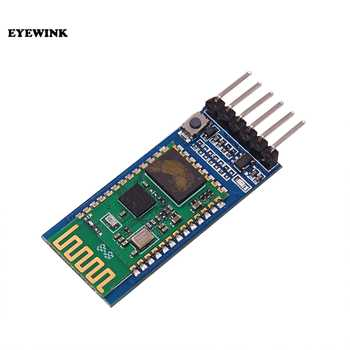 10pcs/lot HC05 JY-MCU anti-reverse, integrated Bluetooth serial pass-through module, HC-05 master-slave 6pin - DISCOUNT ITEM  5% OFF Electronic Components & Supplies