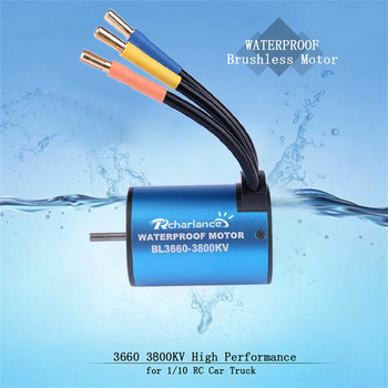 Waterproof 3650 3900KV Brushless Motor+60A ESC for 1/10 RC Car Boat Crawler,RC    6.19