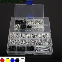 Обтекатели болты и гайки винты обтекателей комплект для YAMAHA YZF600R Thundercat 1997-2009 YZF600 R 97-07 YZF 600R комплект винтов