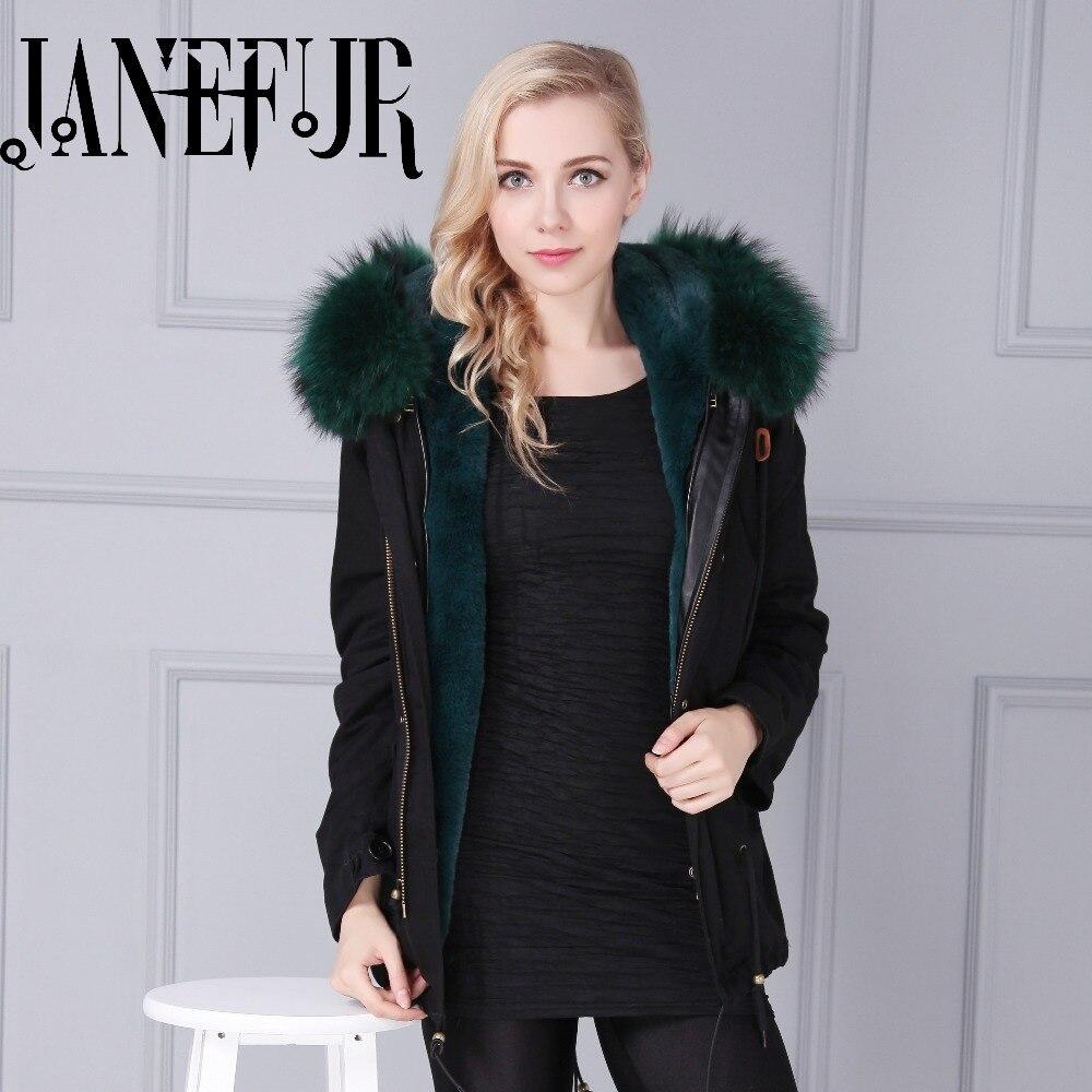 Winter jacket women Camouflage Coats Natural Large Raccoon Fur Hooded Coat Parkas Outwear Female Winter Jacket