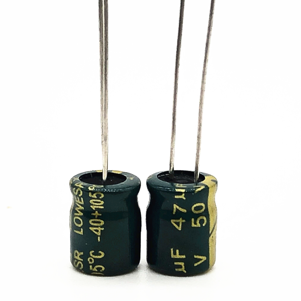 50V 47UF 6*7 High Frequency Low Impedance Aluminum Electrolytic Capacitor 47uf 50V 20%