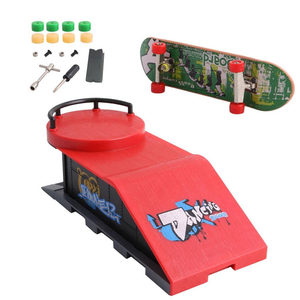 Fingerboard Skate Park Ramp Parts for Tech Deck Finger Board Ultimate Parks
