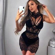BKLD Sexy Lace Womans Nightdress Short Sleepwear See through Night Dress Lady Black Red Lace Nightgowns Night Dress Women
