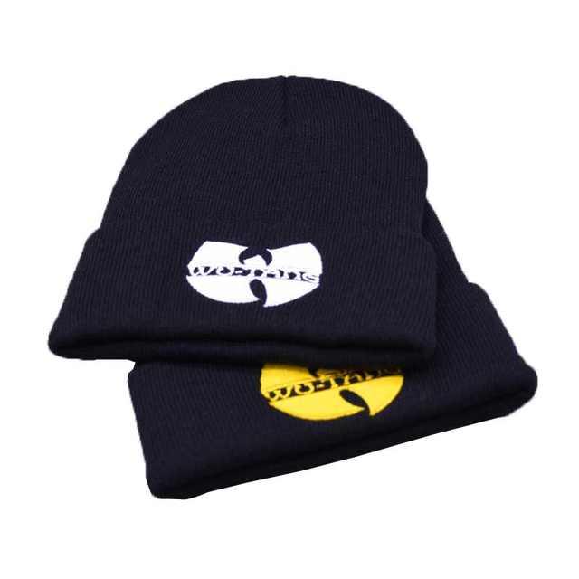 58d1dc1846b WU TANG Hat Unisex Mask Fashion Winter WU TANG CLAN Beanie Hats For Women  Men Acrylic