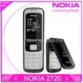 Restaurado original nokia 2720 fold desbloqueado 2720f teléfono celular bluetooth jave un año libera la garantía del envío