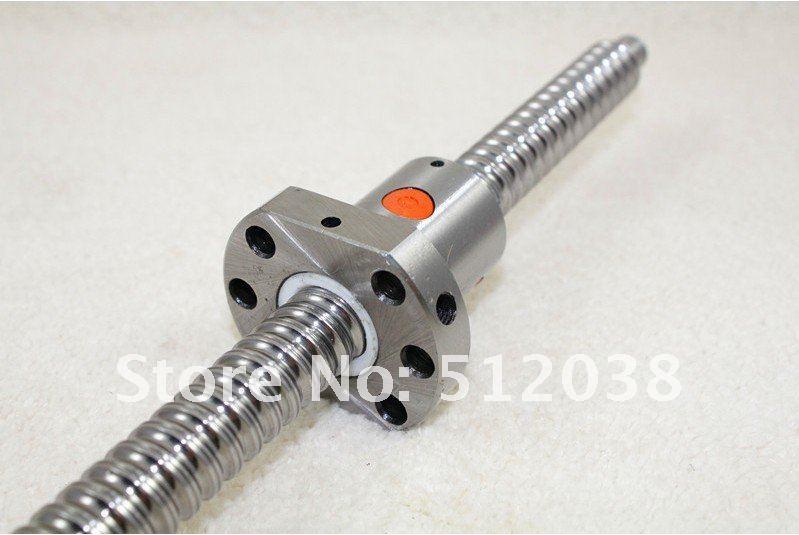 1pcs SFU1605 Ball screw L 300mm+ 1pcs Ballscrew Ballnut for CNC free shipping sfu1605 3 sfu1605 300mm rm1605 300mm c7 rolled ball screw 1pcs 1pcs ballnut cnc parts