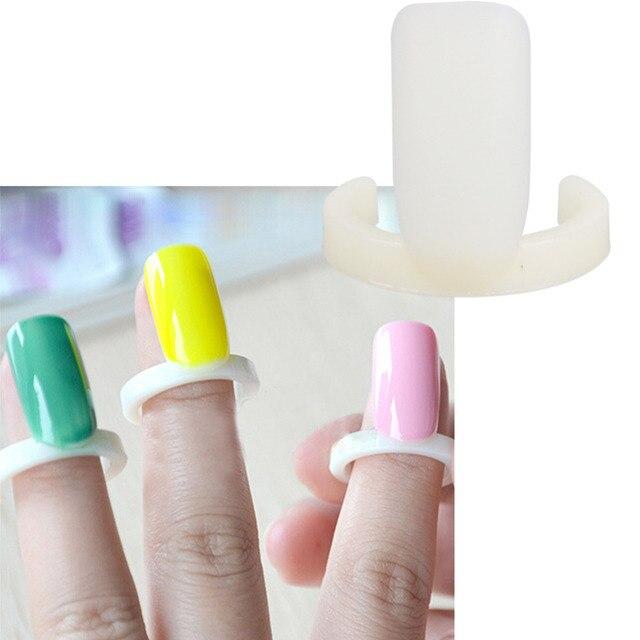 100 шт. Накладные ногти diy Лаки для ногтей Цвет Swatch Дисплей карты кольцо для Дизайн ногтей uv гель показа кольцо Стиль Инструменты для маникюра