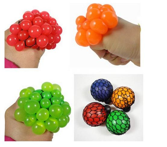 Novelty Toys Balls Grape Antistress Gadget Reliever Ball Autism Mood Squeeze Relief in Health play a trick haloween jokes