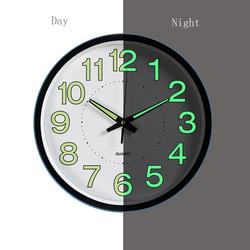 1pcs 12 Inch Luminous Wall Clock Glow In The Dark Quartz Watch For Kid Rooms Bedroom Living Room Hanging Clock Home Decoration