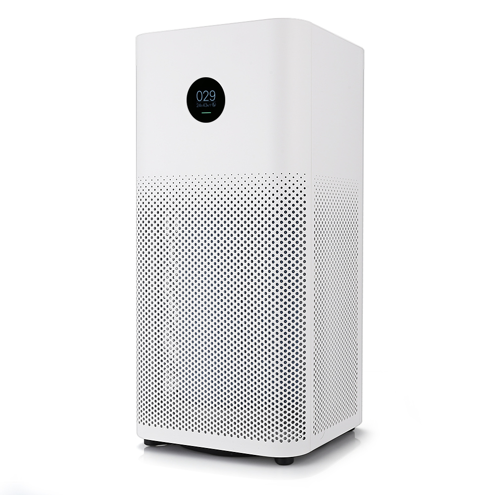 все цены на Original Xiaomi Mi Air Purifier 2S OLED Display Smartphone APP Control Smoke Dust Peculiar Smell Cleaner 3-Layered Hepa Filter онлайн