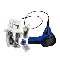 Промышленного эндоскопа проверки автомобильной монитор Бороскоп 99E 4 светодио дный лампы 8,5 мм светодио дный Камера автомобиля Инструменты