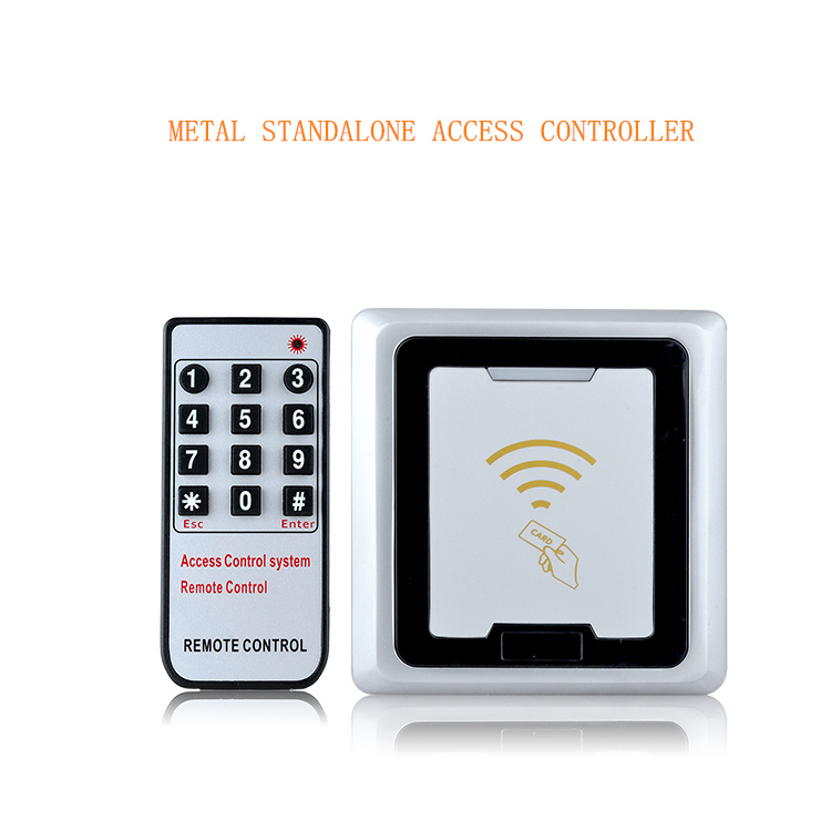 New Arrival 3,000 Users 125KHz RFID Metal Anti-vandal Keypad Access Control, Support Copy Data Directly Between Two Same Models. new arrival metal case anti vandal 125khz rfid keypad access control wiegand 26 input
