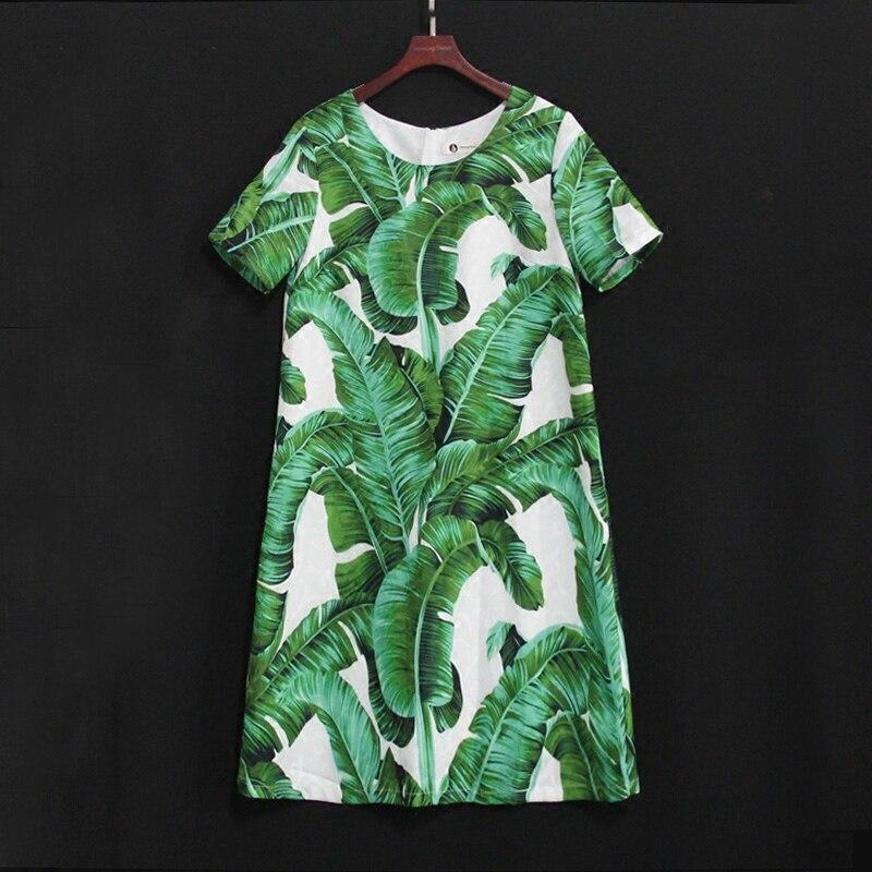 Été enfants feuilles de banane grande taille enfants famille look vêtements mère bébé fille robe de plage maman et fille robes de mode