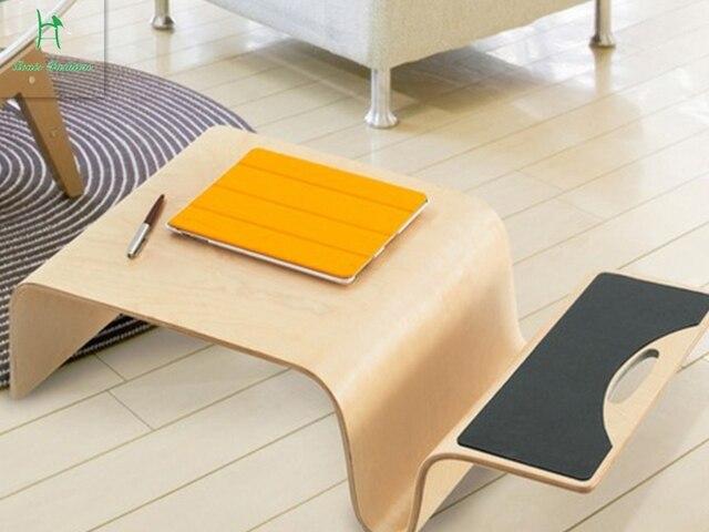 Le japonais bois bois flexion petit bureau de grande taille