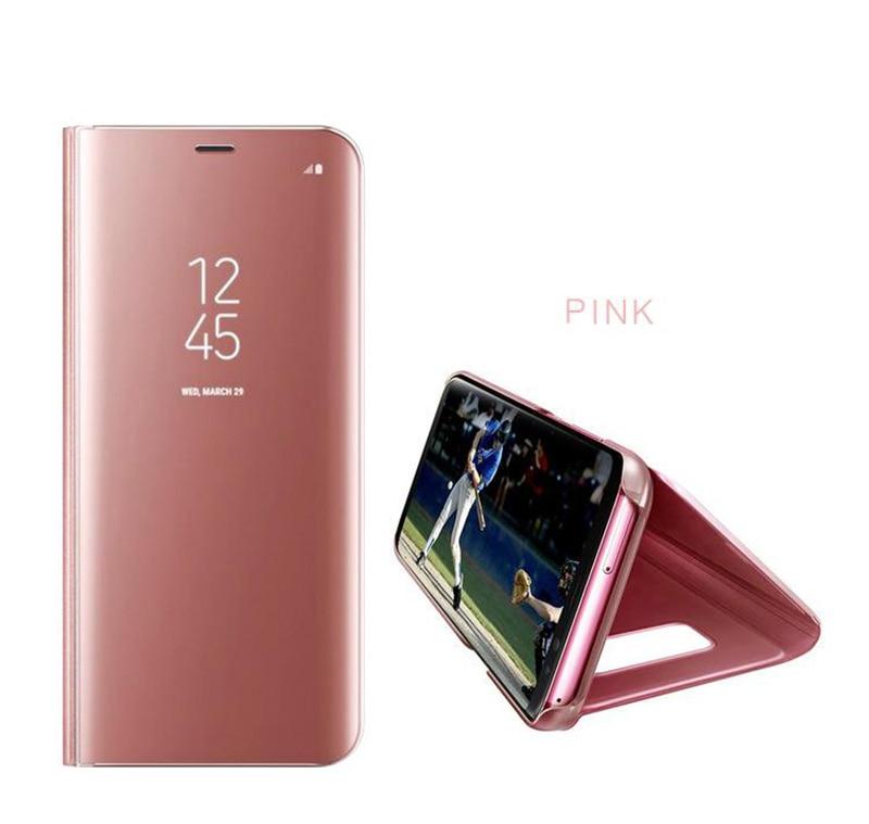 50 個高級スマートキックスタンドミラー F5257 iphone × XR XS 最大 huawei 社 P10 Mate20 ケース無料 Dhl  グループ上の 携帯電話 & 電気通信 からの フリップケース の中 3