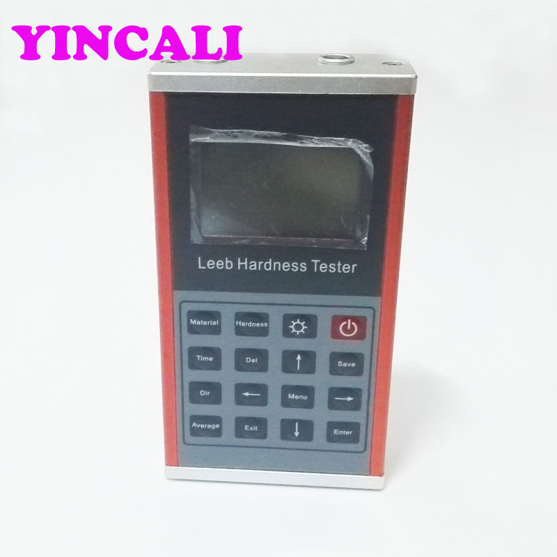 High Accuracy  Leeb hardness Meter Leeb130 Portable Digital Hardness Tester LCD with back light Memory 1250 groups|hardness meter|hardness tester|hardness tester portable - title=