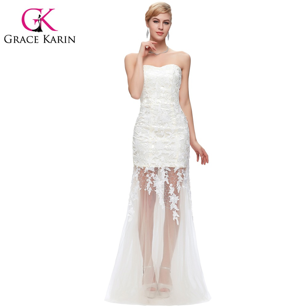 Popular Evening Gown White-Buy Cheap Evening Gown White lots from ...